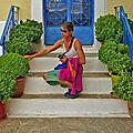 P1040314 - Amorgos: Tholaria, 8 variétés de basilic -