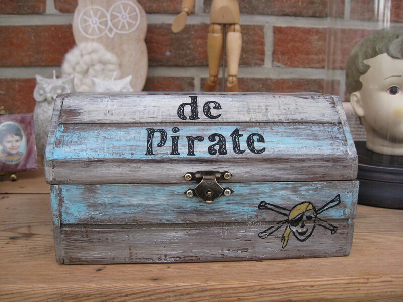 coffre de pirate
