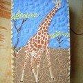 Pour nina, une boite girafe