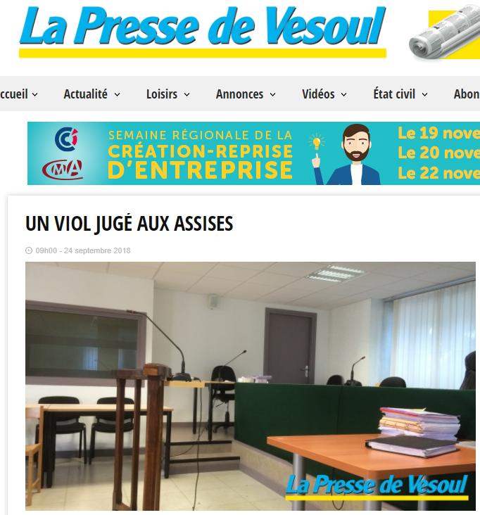 2018-11-17 00_38_59-Un viol jugé aux assises - La Presse de Vesoul - Opera