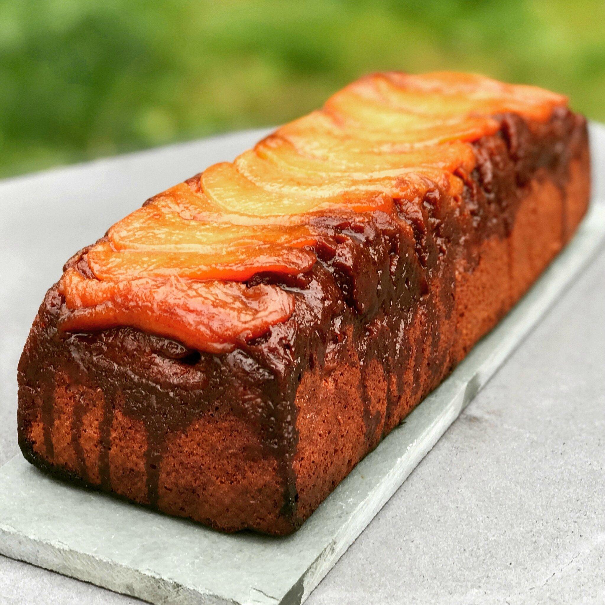 Le Cake Choco-Poires au caramel