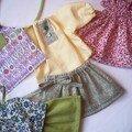Vêtements de poupée printemps-été