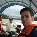 Sailing on the Usumacinta River to Yaxchilan