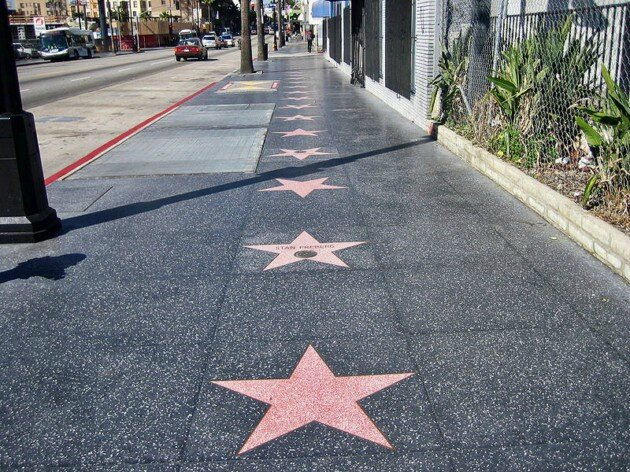 LOS ANGELES - LES TROTTOIRS
