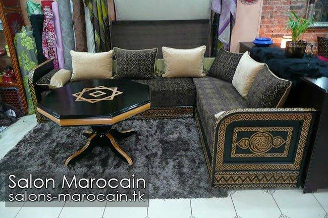 Salon marocain traditionnel 2014 - Salon marocain moderne
