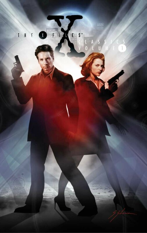 IDW x-files classic vol 1 HC
