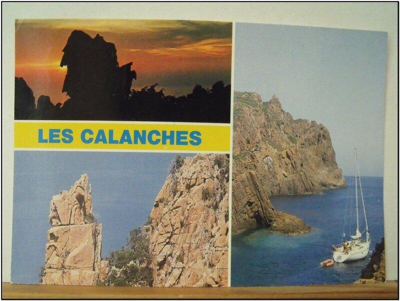 Calanches de Piana - datée 1989