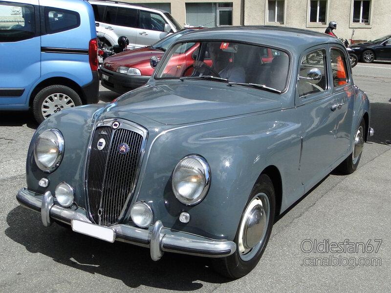 Lancia Aurelia B10 berlina-1951-01