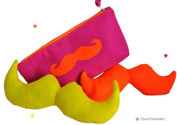 Moustaches Fluo Chut Charlotte (1)