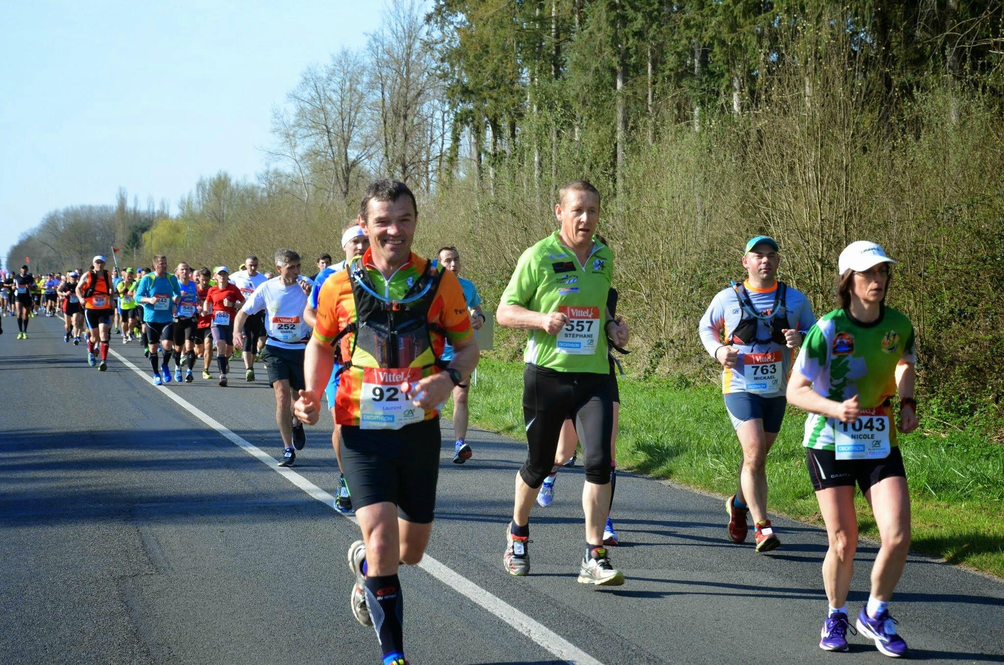 pfff facile le marathon