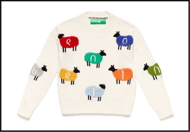 benetton pull moutons 5
