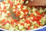 cuisson de la sauce