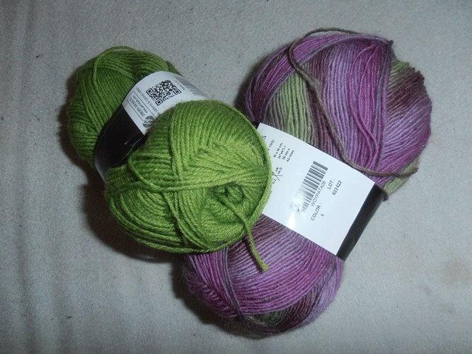 Laine Pomme-violet