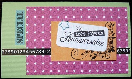 Carte pop-up 30 ans Sandrine extérieur