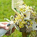 Bouquet anis et crème 3 DIY