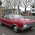 Oldsmobile cutlass 2door convertible 1965