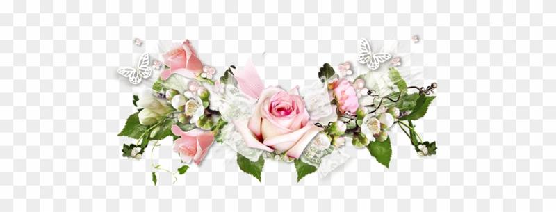 274_2749509_barre_de_se_paration_fleurs_pour_vos_cre_ations_fleurs_pour_un_anniversaire