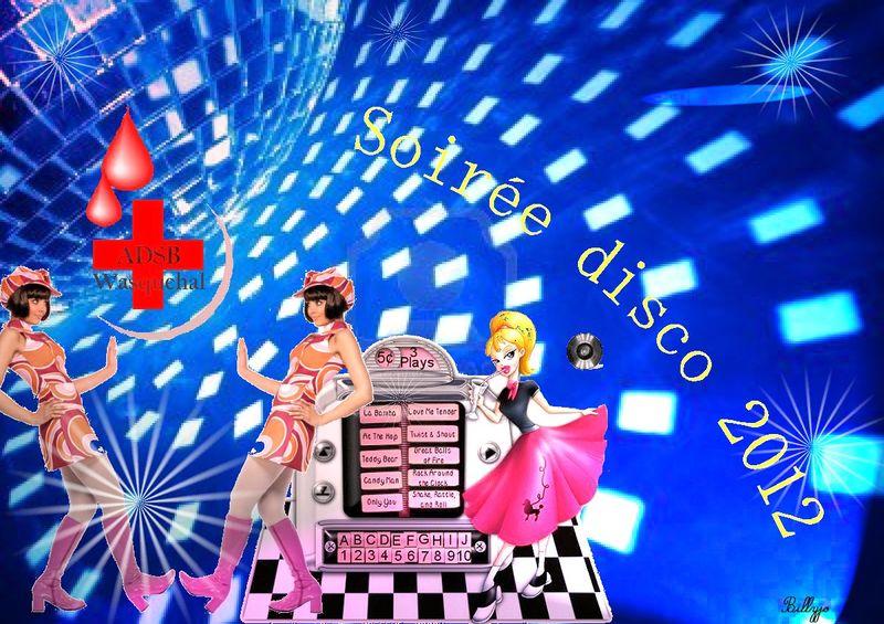 disco1 preparatif de la soirée