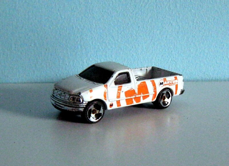 Ford F150 pick-up de 1997 (Hotwheels)