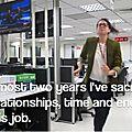 Elle quitte son travail en vidéo !