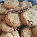 Cookies fourrés au nutella