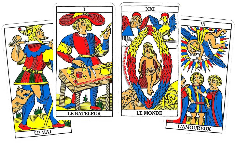 Les cartes de tarot existent depuis le milieu du 15ème siècle-du medium marabout voyant sérieux AYAO