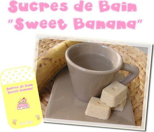Sucres de Bain à la Pulpe de Banane