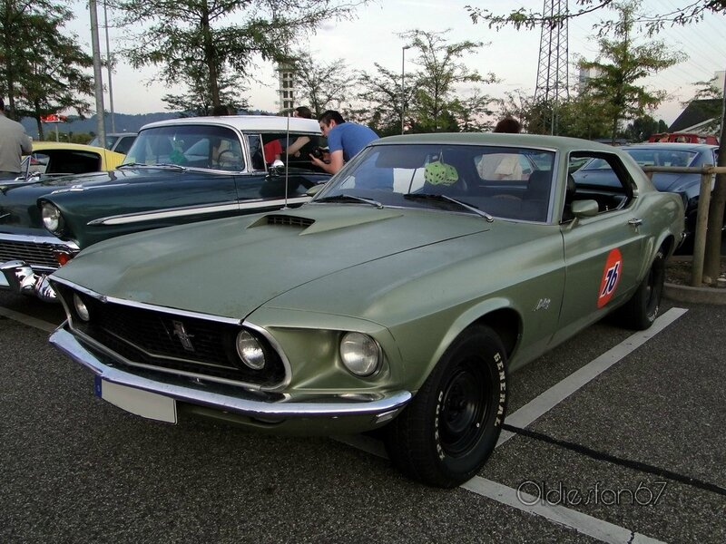 ford mustang hardtop coupe 1969 a