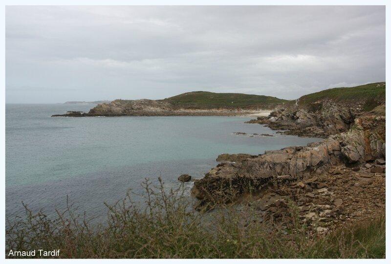 00536 Plouguerneau - Le Pays d'Iroise - La Pointe de vue depuis la Pointe de Kermorvan blog 2