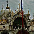 Luxuriance de la basilique de San Marco.