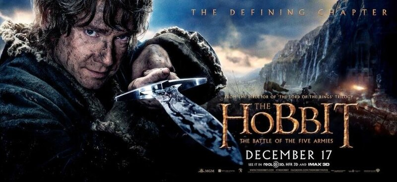 Banner Bilbo The Hobbit The Battle of the Five armies