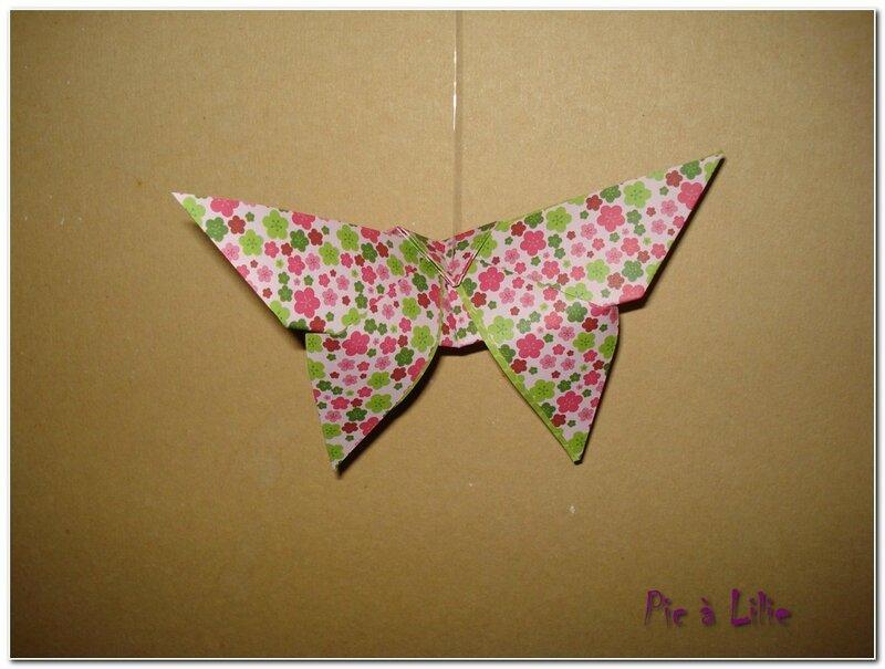 Guirlande origamie