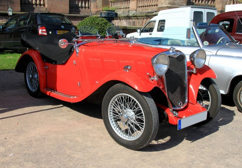 Singer type nine sport (1933-1937) (8ème Rohan Locomotion) 01