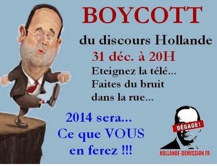 Boycott HollandeNA2014