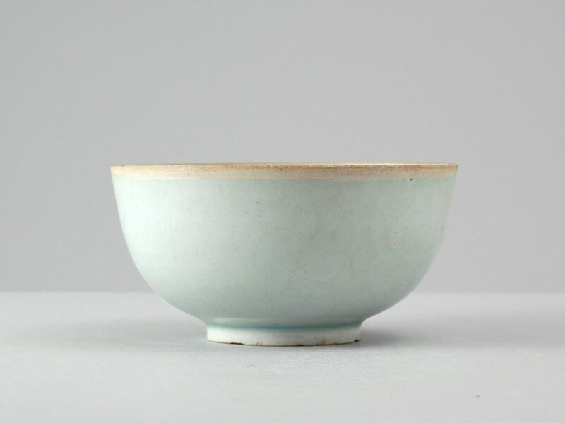 White ware bowl, Jingdezhen kilns, 13th century, Southern Song Dynasty (1127 - 1279)