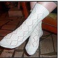 chaussettes dentelle