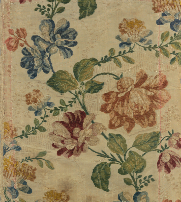 COOPER HE WITT ORG Textile ( France ), 18th century silk and chenillepng