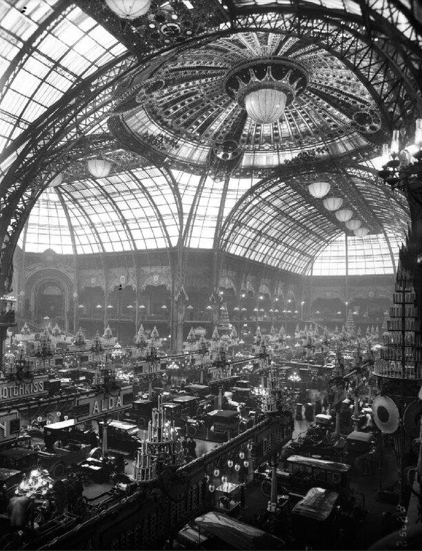 1900_Grand Palais pour le salon de l'auto en 1912