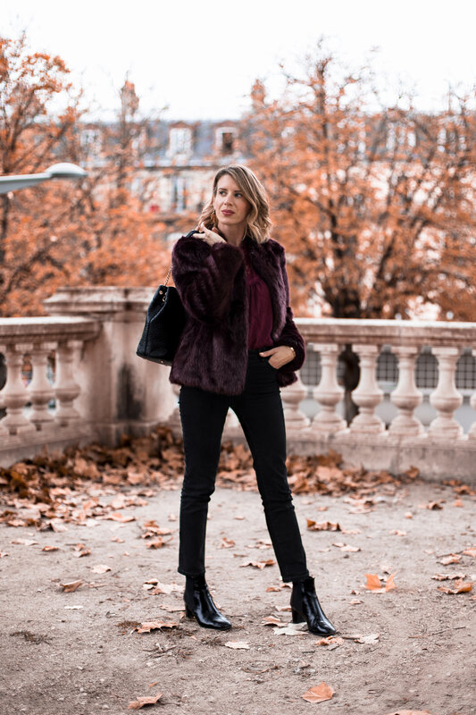 Burgundy lace and faux fur (4)