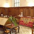 Abbaye d'Ambronay, la sacristie