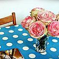 # un bouquet dont je profite à chaque heure de la
