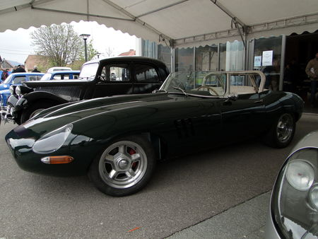 JAGUAR Type E Serie I Spider Bourse Echanges Autos Motos de Chatenois 2010 1
