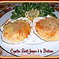 Coquille saint-jacques à la bretonne, tellement délicieuse ...