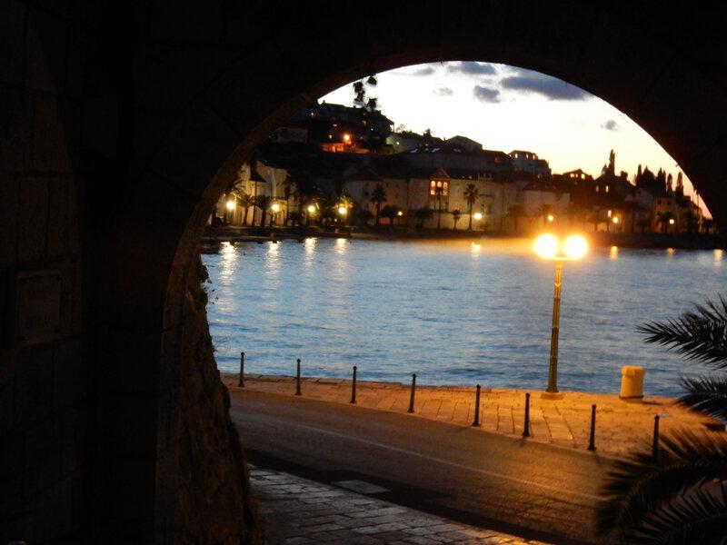 Korcula, le port historique, lundi 19 octobre 2020 (2)