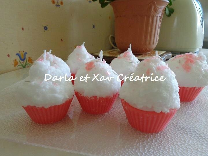 Bougies cup cakes 1