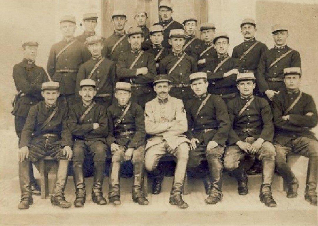 08 Caen, Quartier Claude Decaen, groupe 1918, 43e RAC