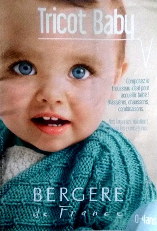 Tricot Baby de Bergère de France