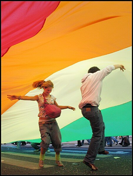 Dancing under the Rainbow