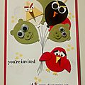 Angry birds ballon celebration card and win an inkpad!!!