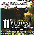 Castries - festival films cultures taurines 2019